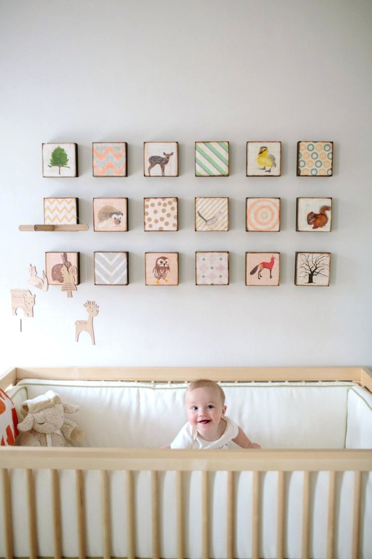 Wall Arts ~ Featured Image Of Nursery Framed Wall Art Baby Nursery Regarding Most Recently Released Baby Nursery Fabric Wall Art (View 13 of 15)