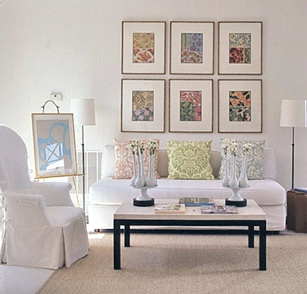 Wall Arts ~ Frame Fabric Wall Art Wall Art Design Diy Framed Throughout Recent Framed Textile Wall Art (View 15 of 15)