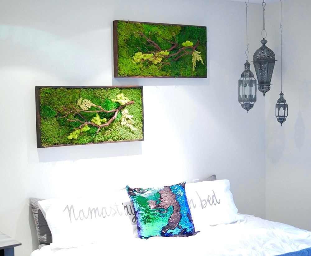 Wall Arts ~ Green Wall Art Metal Artificial Green Wall Philippines Within Recent Canvas Wall Art Of Philippines (View 14 of 15)