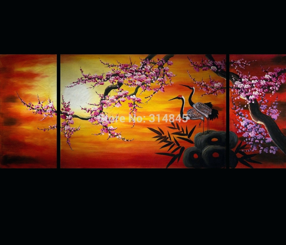 Wall Arts ~ Japanese Wall Art Stickers Wall Art Ideas Design Intended For 2017 Japanese Canvas Wall Art (View 15 of 15)