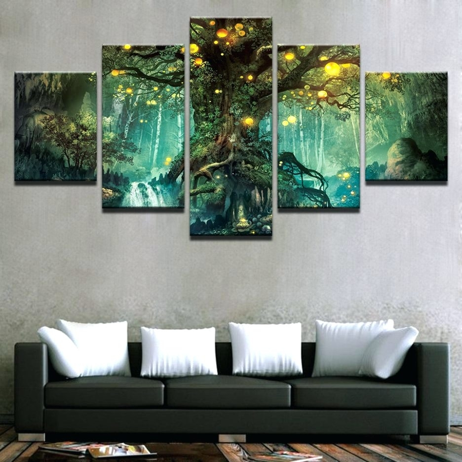 Wall Arts ~ Large 3 Panel Wall Art Large Wood Panel Wall Art 3 Pertaining To Most Recently Released Canvas Wall Art Pairs (View 15 of 15)