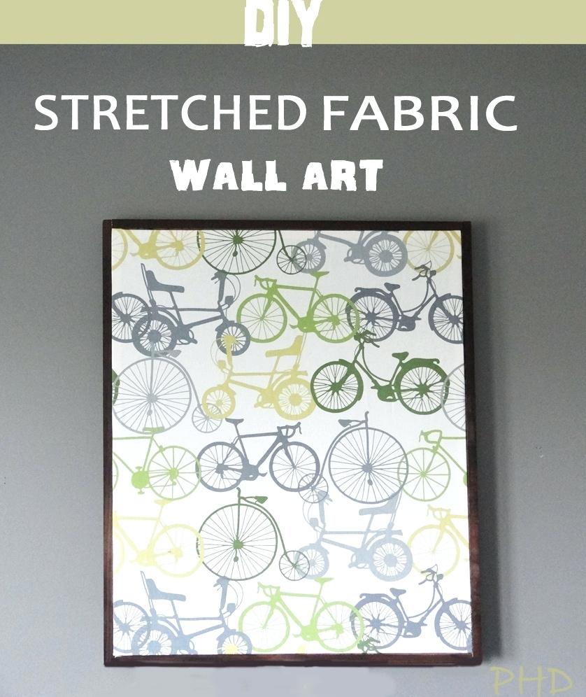 Wall Arts ~ Make Fabric Panel Wall Art Diy Fabric Cross Wall Art Inside Most Popular Diy Fabric Cross Wall Art (View 13 of 15)