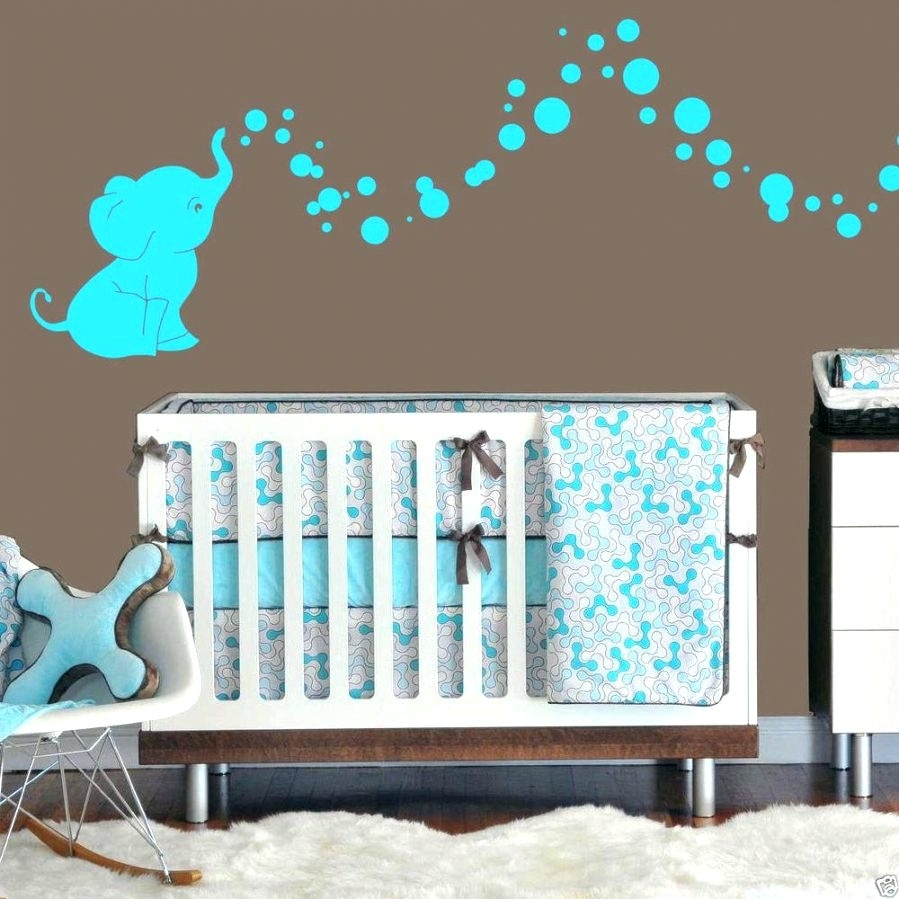Wall Arts ~ Nursery Room Wall Hangings Baby Room Wall Art Animals With Regard To Most Popular Baby Fabric Wall Art (View 14 of 15)