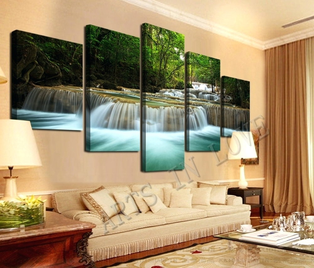 Wall Arts ~ Pictures Photo Canvas Wall Art Large Print Fabric Wall Inside Most Current Custom Fabric Wall Art (View 14 of 15)