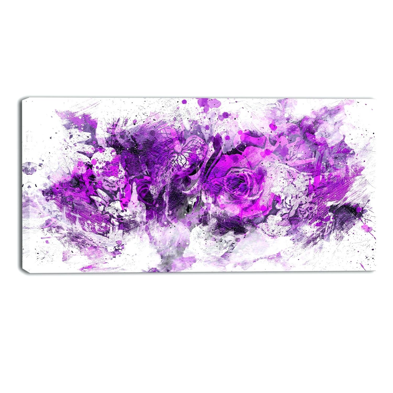 Wall Arts: Purple Wall Art Canvas (View 15 of 15)