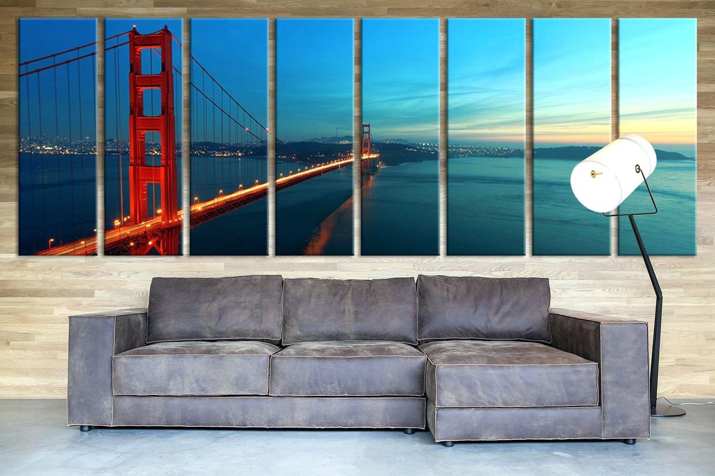 Wall Arts ~ San Francisco 2018 Wall Calendar San Francisco Canvas Within Newest Ottawa Canvas Wall Art (View 12 of 15)