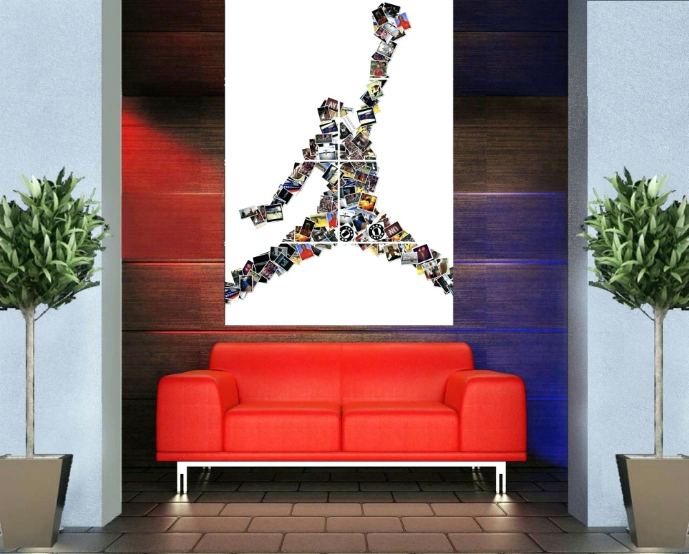 Wall Arts ~ Vintage Mickey Mouse Sports Wall Art Sport Wall Art Inside Most Recent Michael Jordan Canvas Wall Art (View 15 of 15)