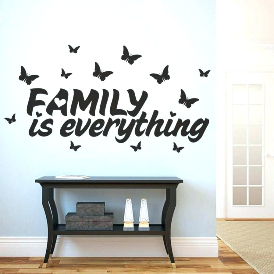 Wall Arts ~ Wall Art Decals Family Quotes Canvas Wall Art Family Regarding Most Up To Date Canvas Wall Art Family Quotes (View 10 of 15)