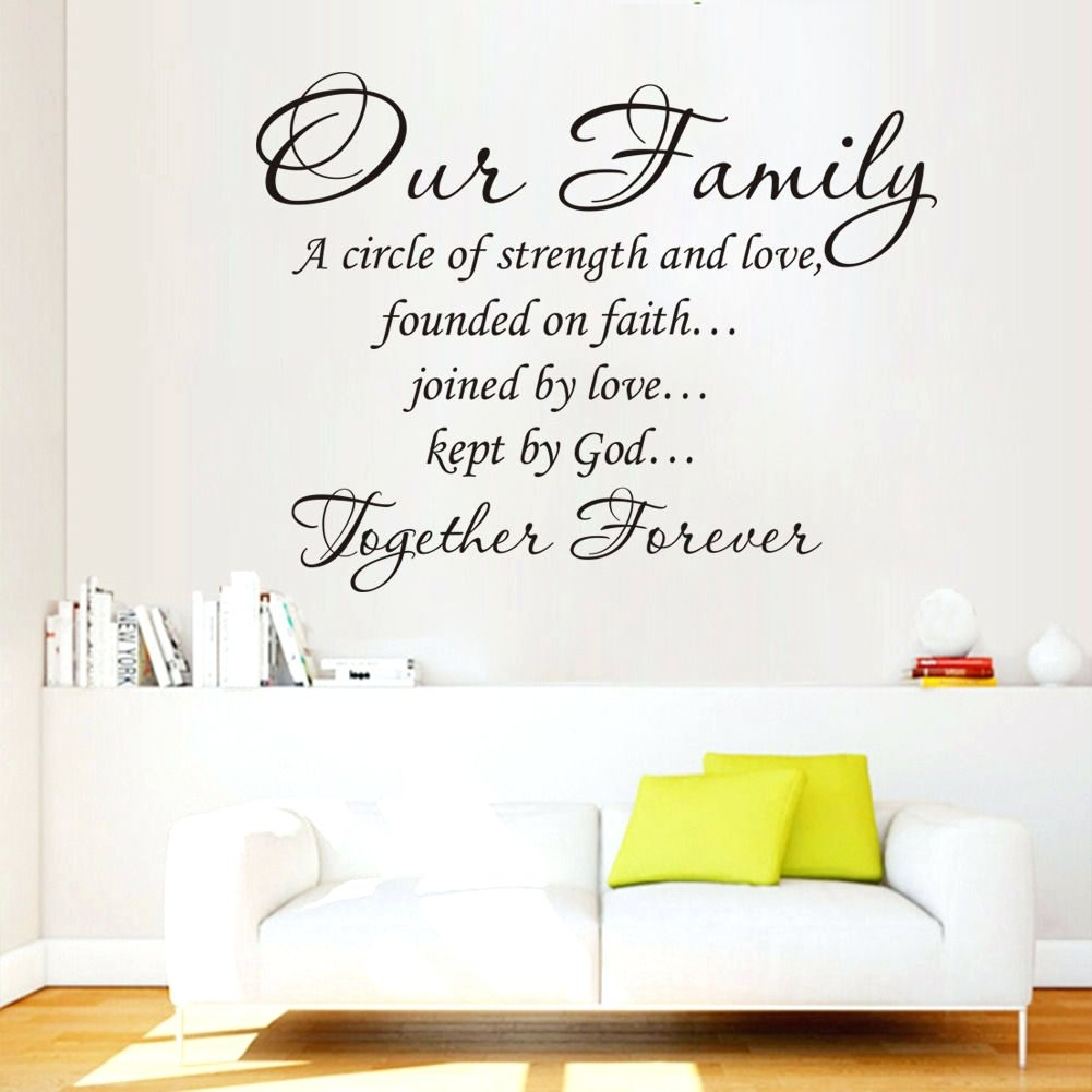 Wall Arts ~ Wall Art Quotes For Bedrooms Dance Quotes Canvas Wall Throughout Latest Canvas Wall Art Family Quotes (View 14 of 15)