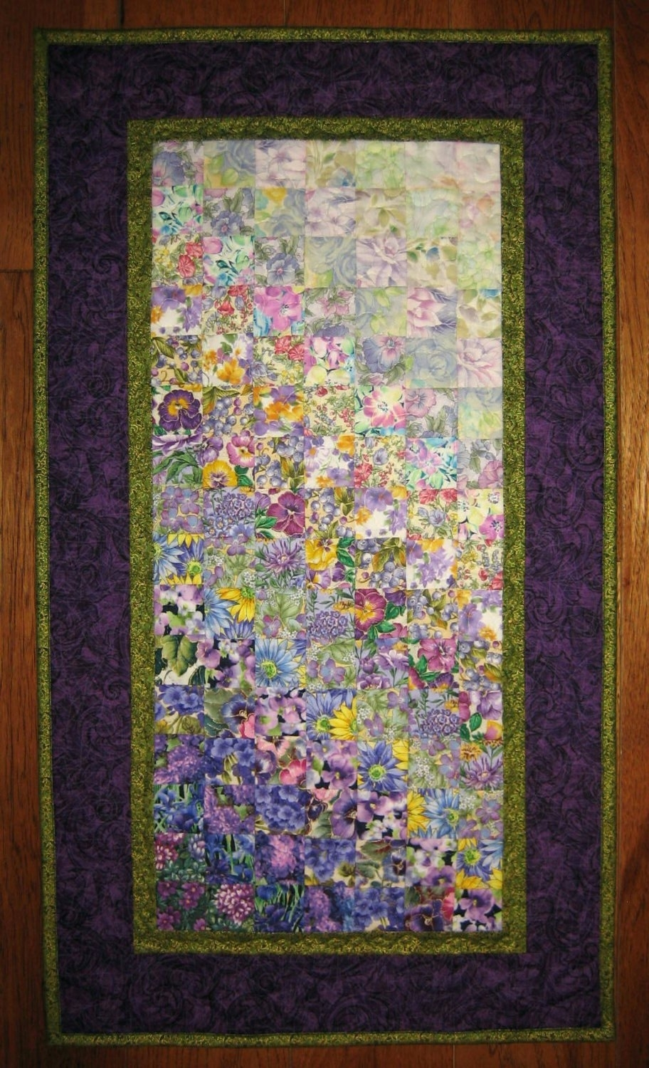 Wall Arts ~ Winsome Fabric Canvas Wall Art Diy Art Quilt Purple Intended For Latest Purple Fabric Wall Art (Gallery 7 of 15)