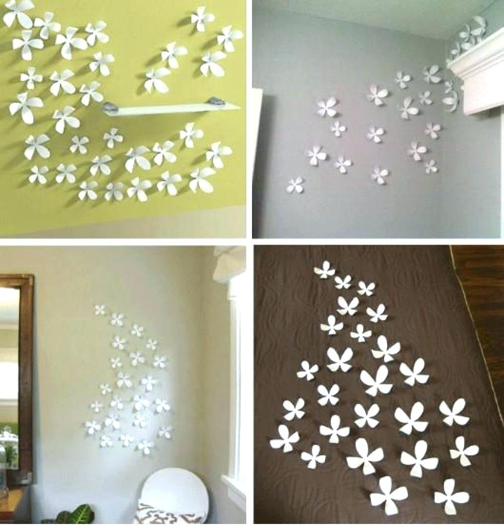 Wall Arts ~ Wondrous Fabric Wall Decor 108 Nursery Decor Fabric Throughout 2017 Diy Fabric Flower Wall Art (View 15 of 15)