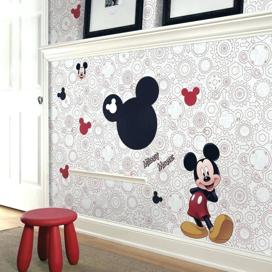 Wall Arts ~ Zoom Mickey Mouse Canvas Wall Art Mickey Mouse For Newest Mickey Mouse Canvas Wall Art (Gallery 7 of 15)