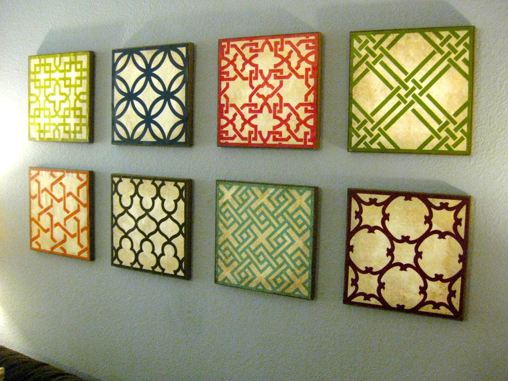 Wall Decor Canvas U2013 Wall Decorations For Your Living Room Intended For  Current Fabric Wall Accents