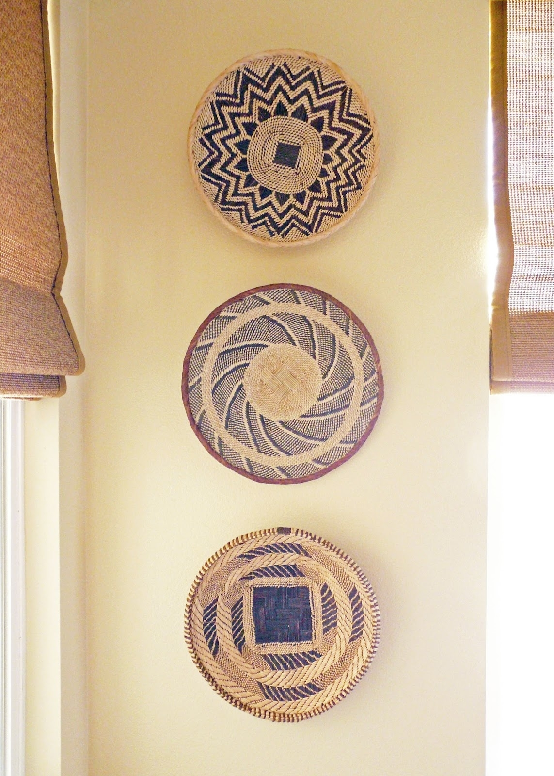 Wall Decor: Good Look Baskets As Wall Decor Woven Wall Baskets With Regard To 2018 African Wall Accents (Gallery 8 of 15)