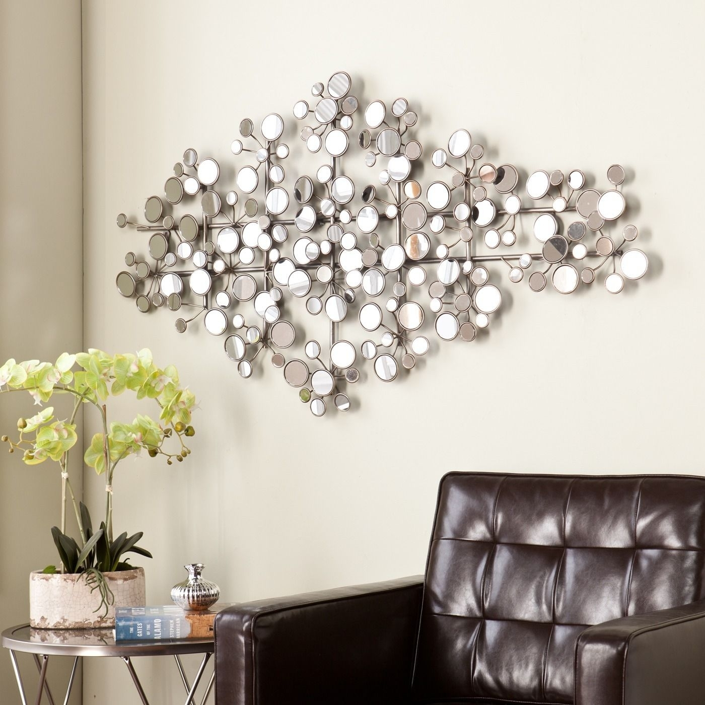 Wall Decor : Long Mirror Tall Wall Mirrors Large Decorative With Regard To Most Current Mirror Sets Wall Accents (View 9 of 15)