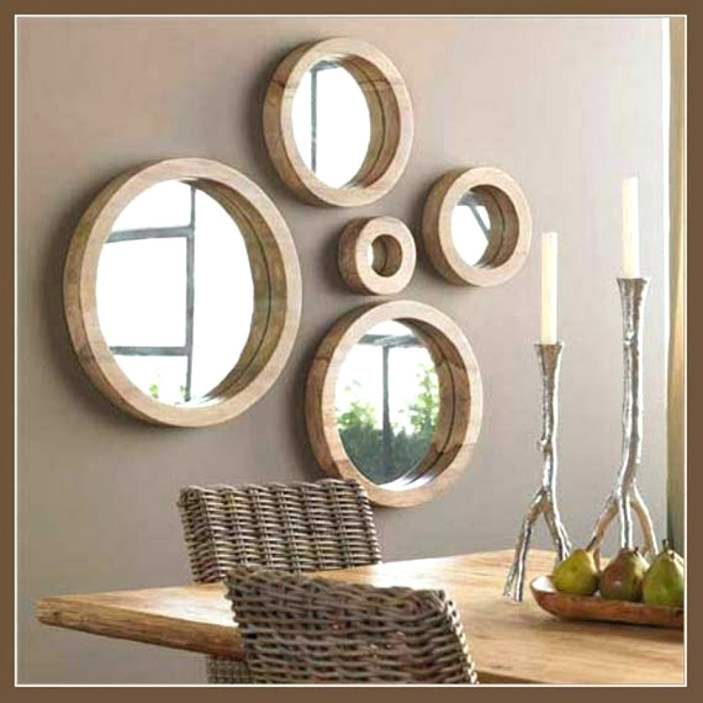 Wall Mirrors ~ Black Accent Wall Mirrors Small Accent Wall Mirrors With Best And Newest Mirror Sets Wall Accents (View 12 of 15)