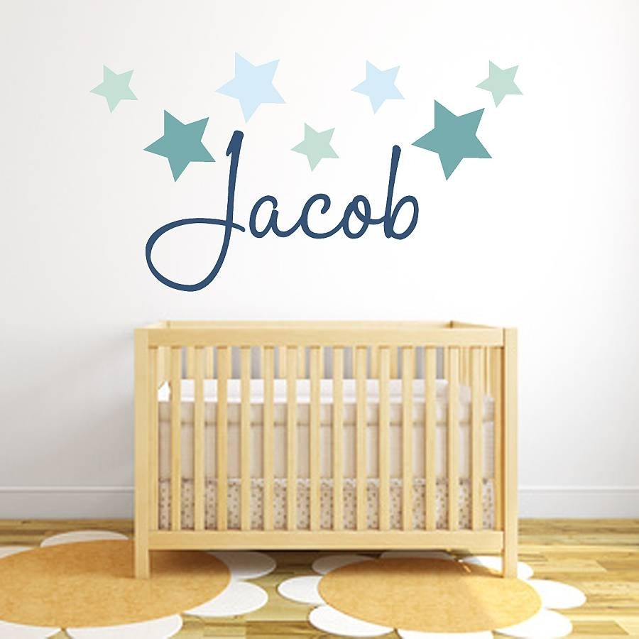 Wall Name Stickers Image Collections – Wall Design Ideas Throughout Most Recently Released Baby Names Canvas Wall Art (View 7 of 15)