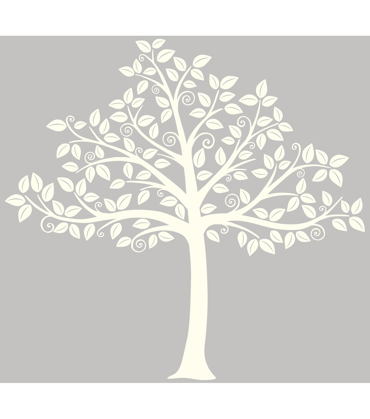 Wall Pops Silhouette Tree Wall Art Decal Kit, 129 Piece Set | Joann Throughout Most Recently Released Joann Fabric Wall Art (Gallery 2 of 15)
