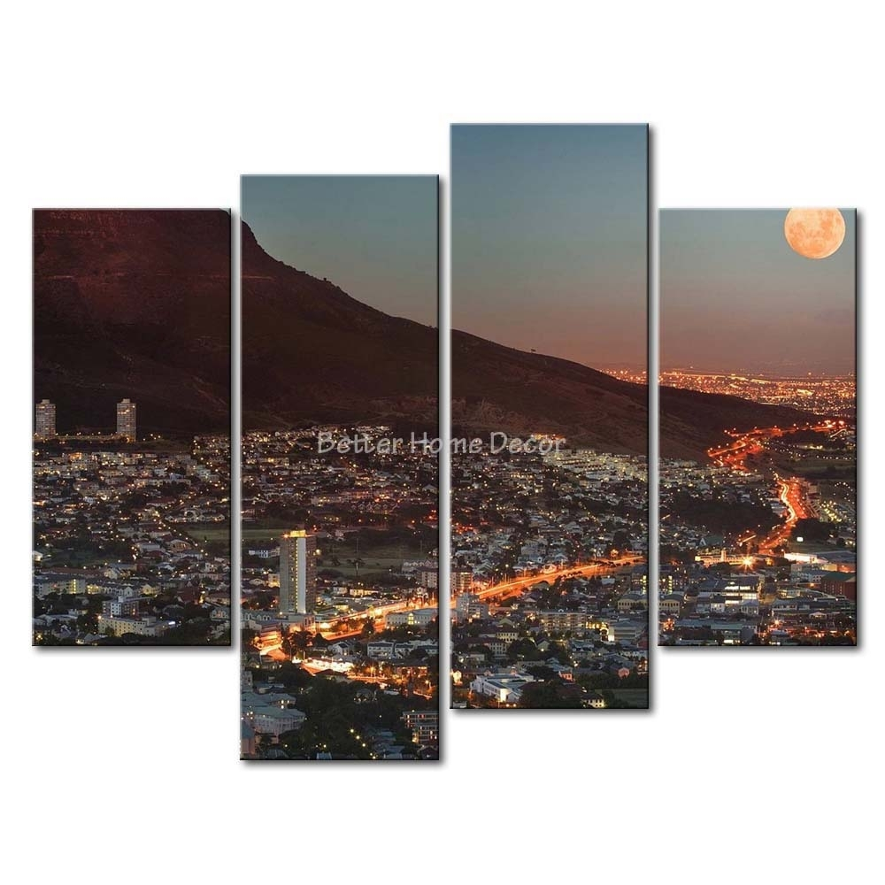 Wall Stickers Cape Town Within Most Up To Date Cape Town Canvas Wall Art (View 15 of 15)