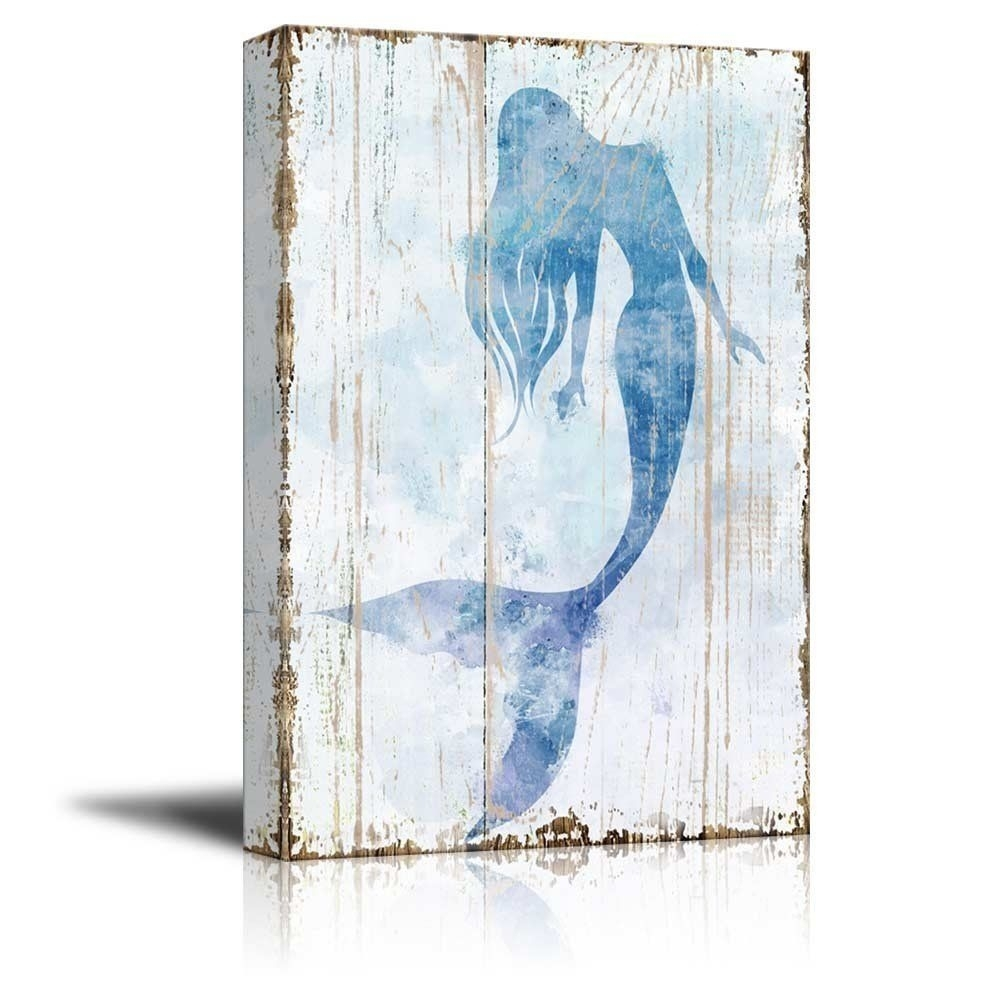 Wall26 Rustic Canvas Prints Wall Art – Dandelion Artwork On Regarding Recent Rustic Canvas Wall Art (View 14 of 15)