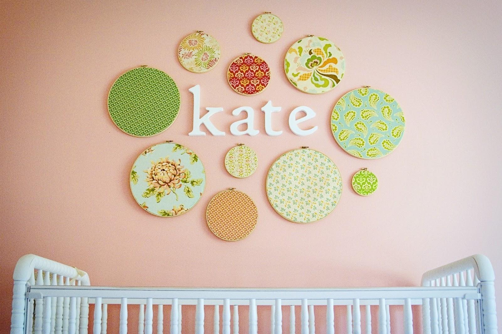 Featured Photo of Nursery Decor Fabric Wall Art