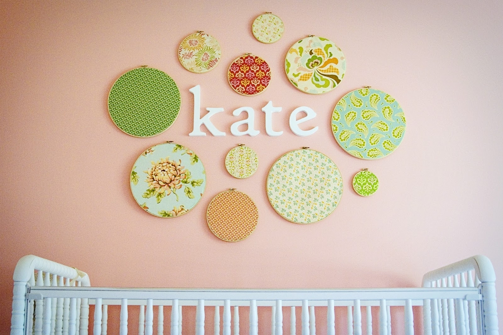Featured Photo of Nursery Fabric Wall Art