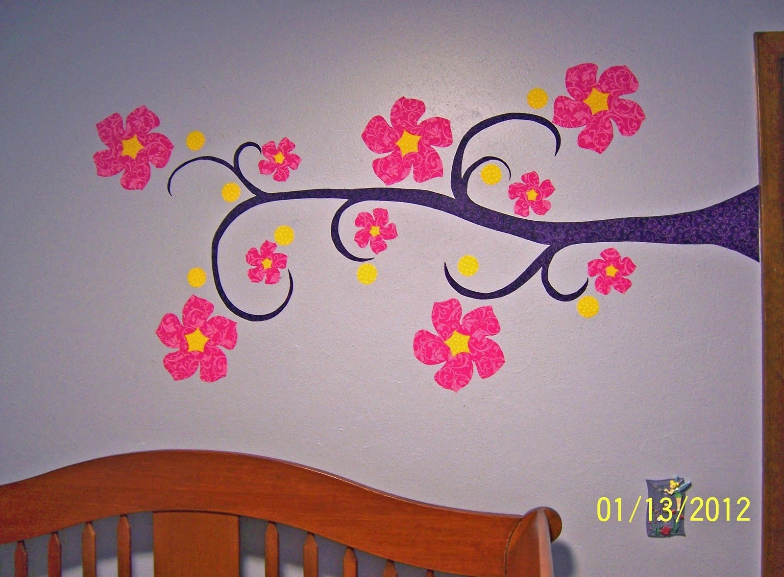 Whimsy Ma Blog: Fabric Wall Appliques A Tutorial Throughout 2018 Fabric Applique Wall Art (View 10 of 15)