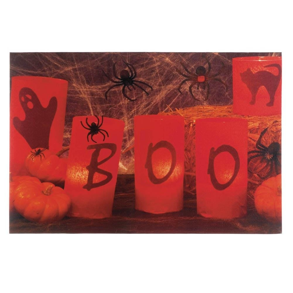 Wholesale Boo Halloween Led Wall Art – Buy Wholesale Halloween Decor Inside Most Up To Date Halloween Led Canvas Wall Art (View 6 of 15)
