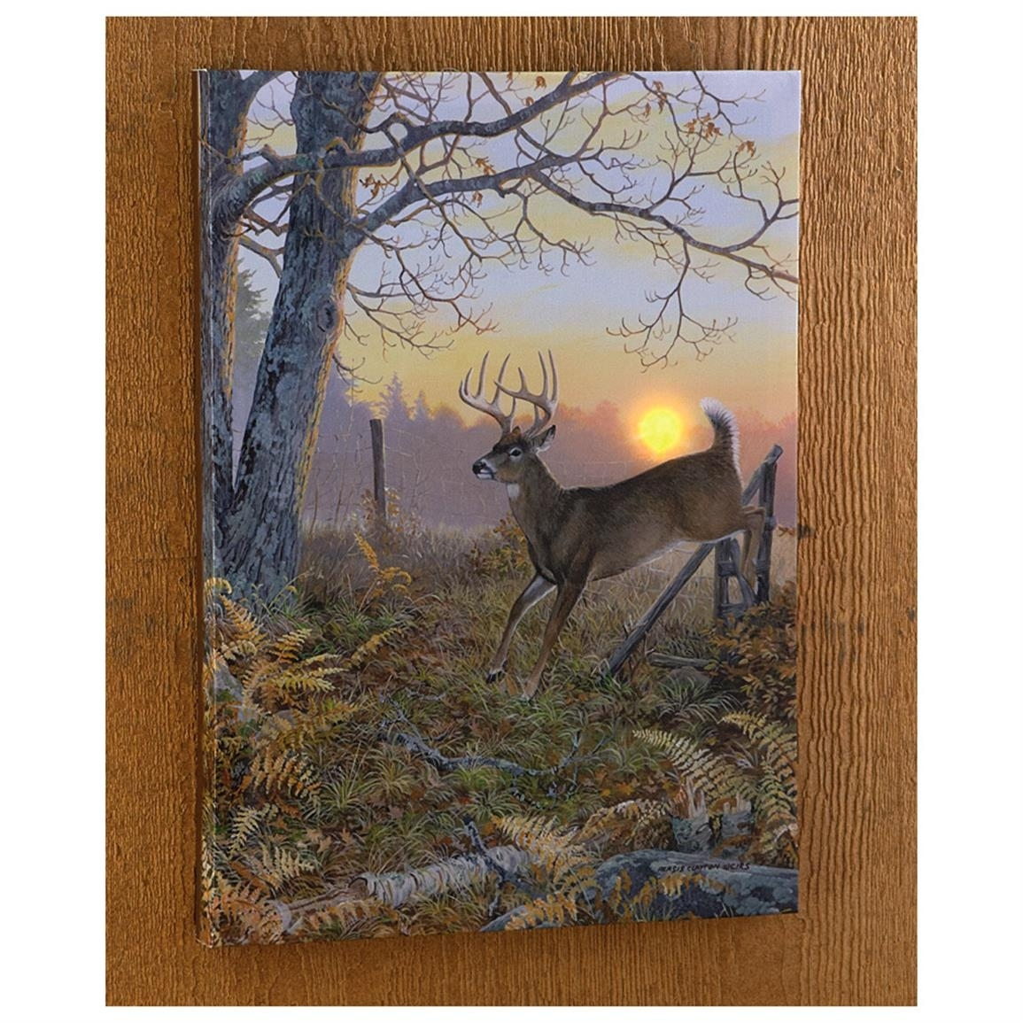 Wild Wings Collection® Lighted Canvas Print – 616554, Wall Art At Inside Most Recent Lighted Canvas Wall Art (View 15 of 15)