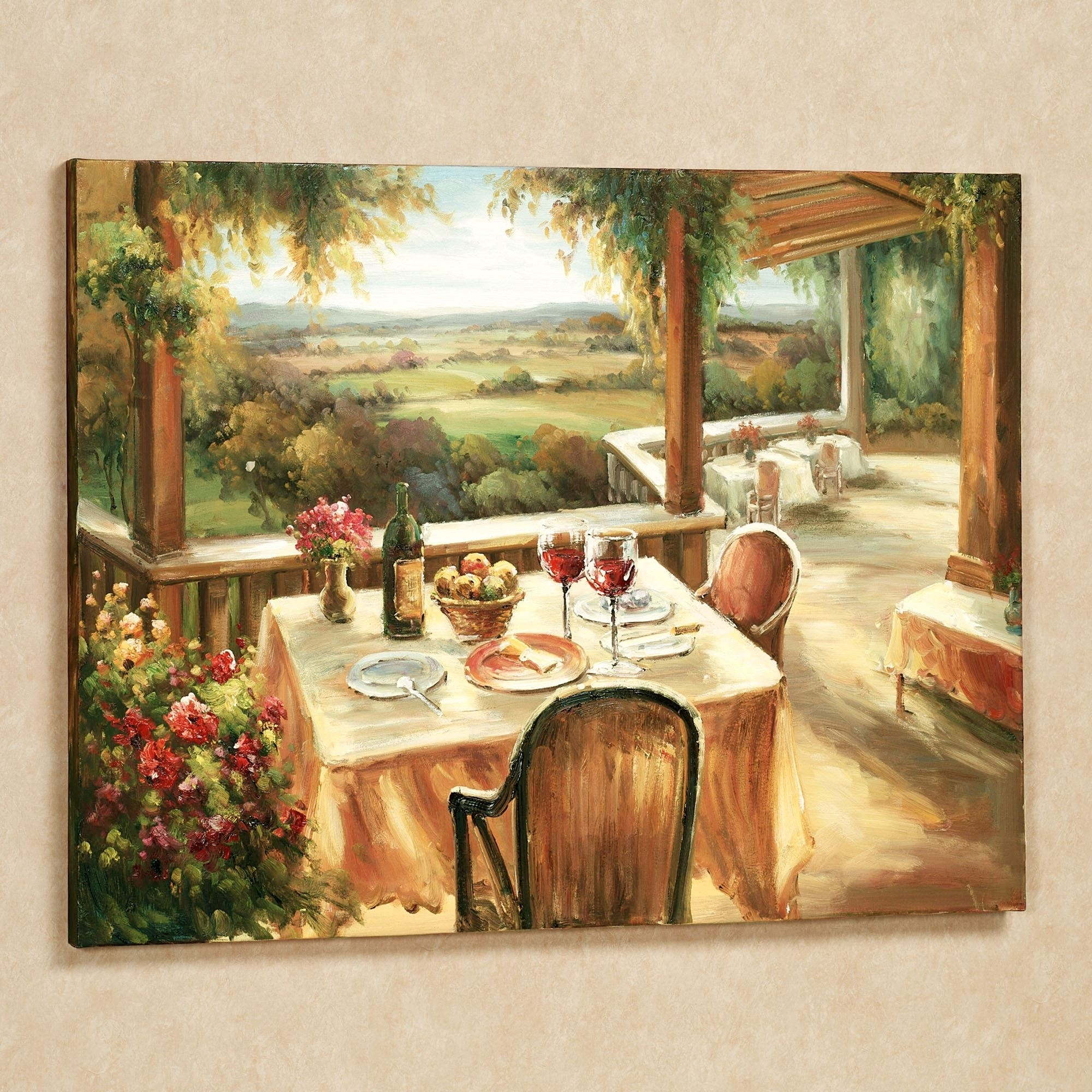 Wine And Dine Canvas Wall Art Throughout Most Popular Canvas Wall Art For Dining Room (View 15 of 15)