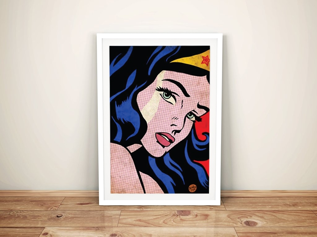 Wonder Woman Comic Book Art Roy Lichtenstein Pop Art With Regard To Best And Newest Framed Comic Art Prints (View 8 of 15)