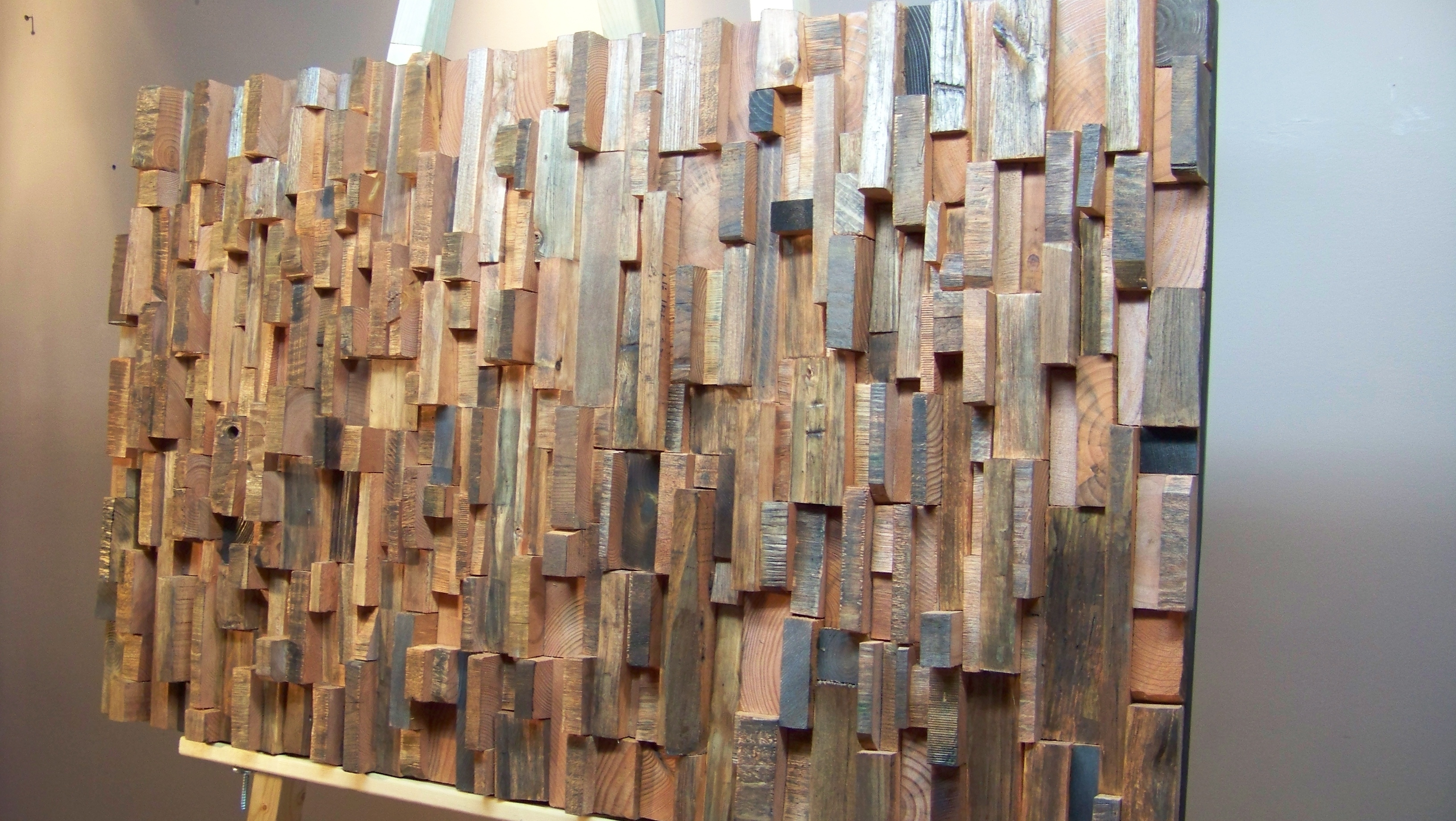 Wood Panel Wall Art Some Decor Reviews – Best House Design In Most Up To Date Wood Paneling Wall Accents (View 8 of 15)