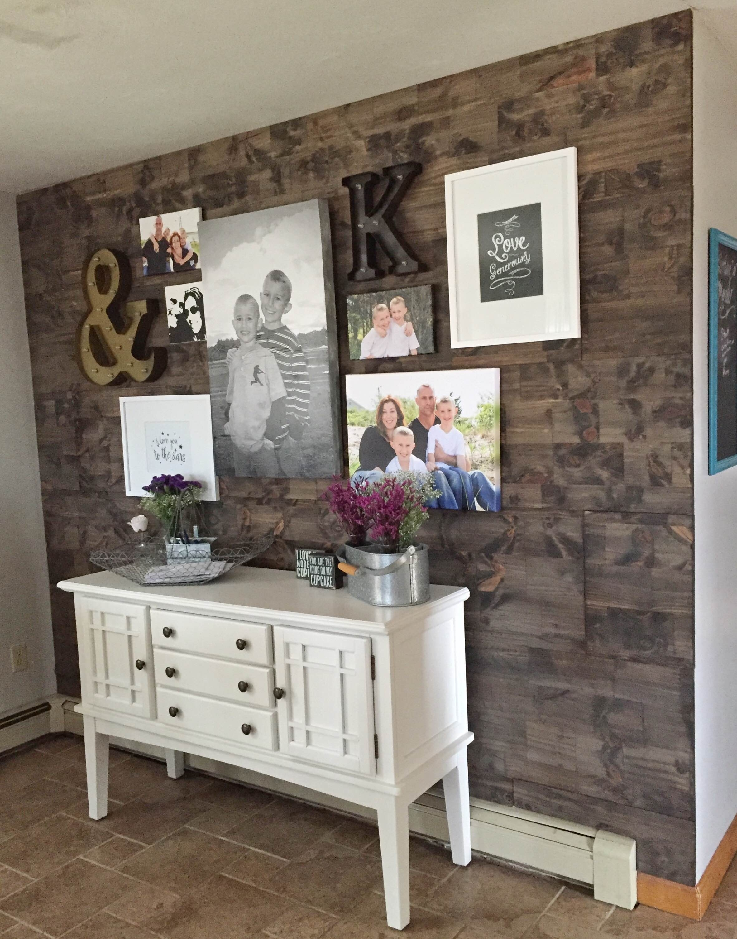 Wood Wall Accent Reclaimed Wood Accent Wall Living Room Decor In Most Popular Reclaimed Wood Wall Accents (View 14 of 15)