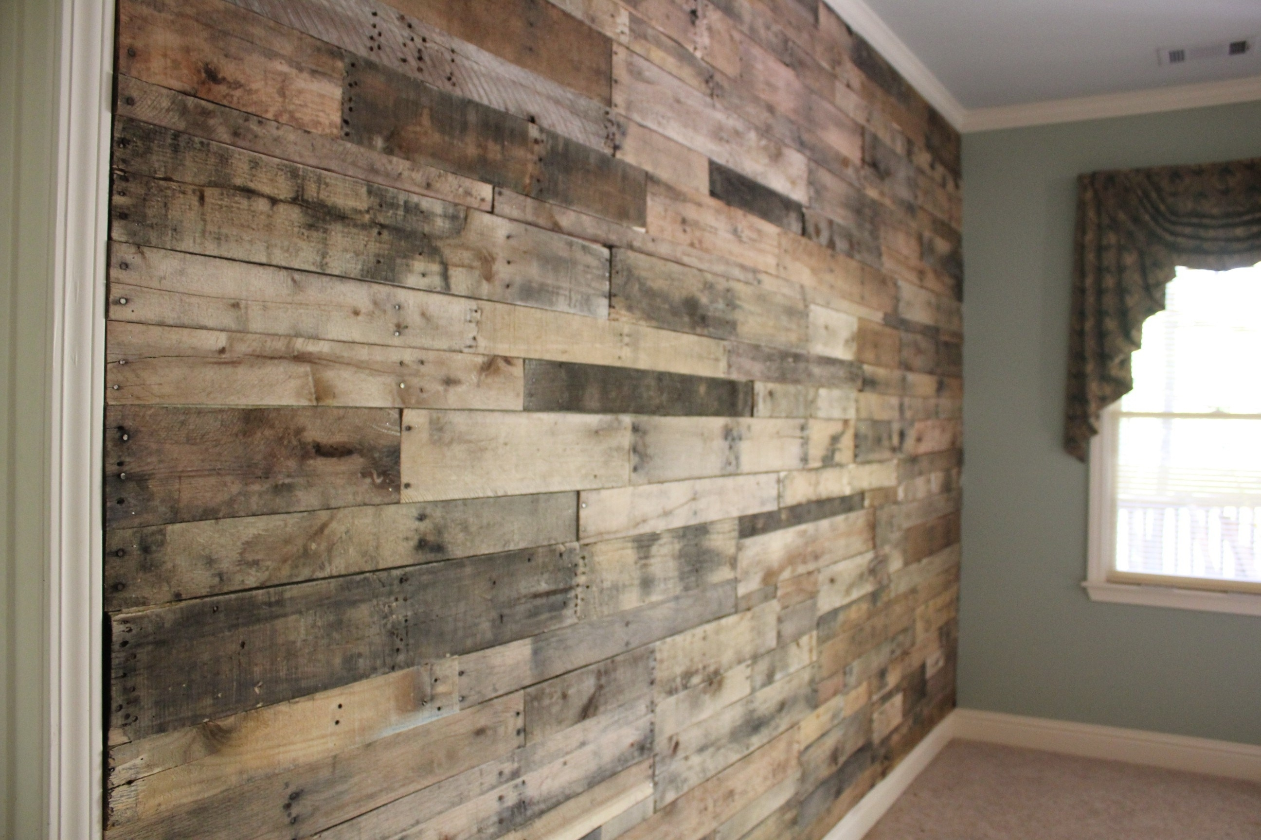 Wood Wall Accent Wall Art Ideas Wooden Accent Wall Bedroom Accent In Recent Wood Wall Accents (View 11 of 15)