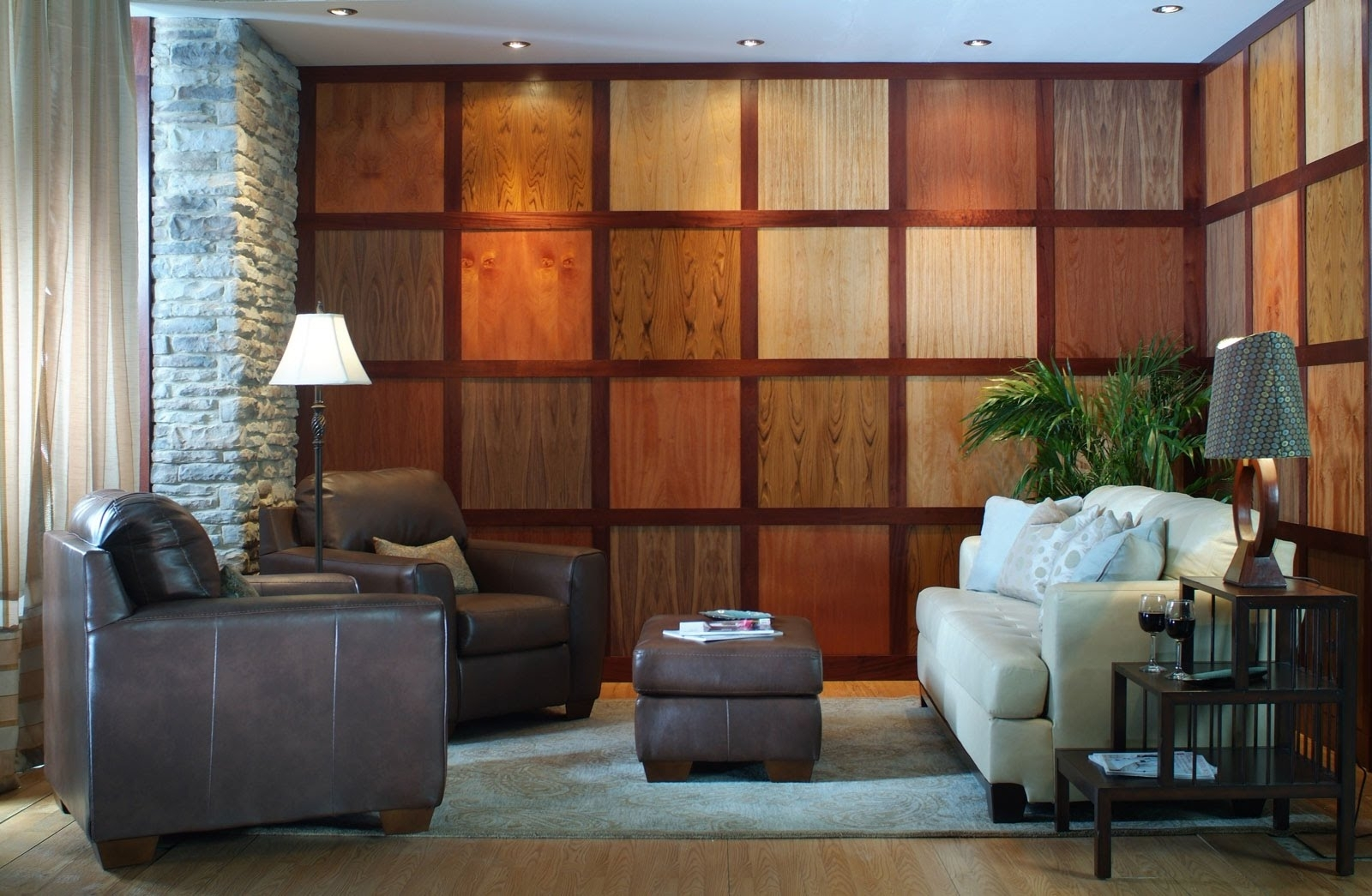 Wood Wall Panels   Rustic Wood Panel Wall Art – Youtube Regarding Most Recent Wood Paneling Wall Accents (View 14 of 15)