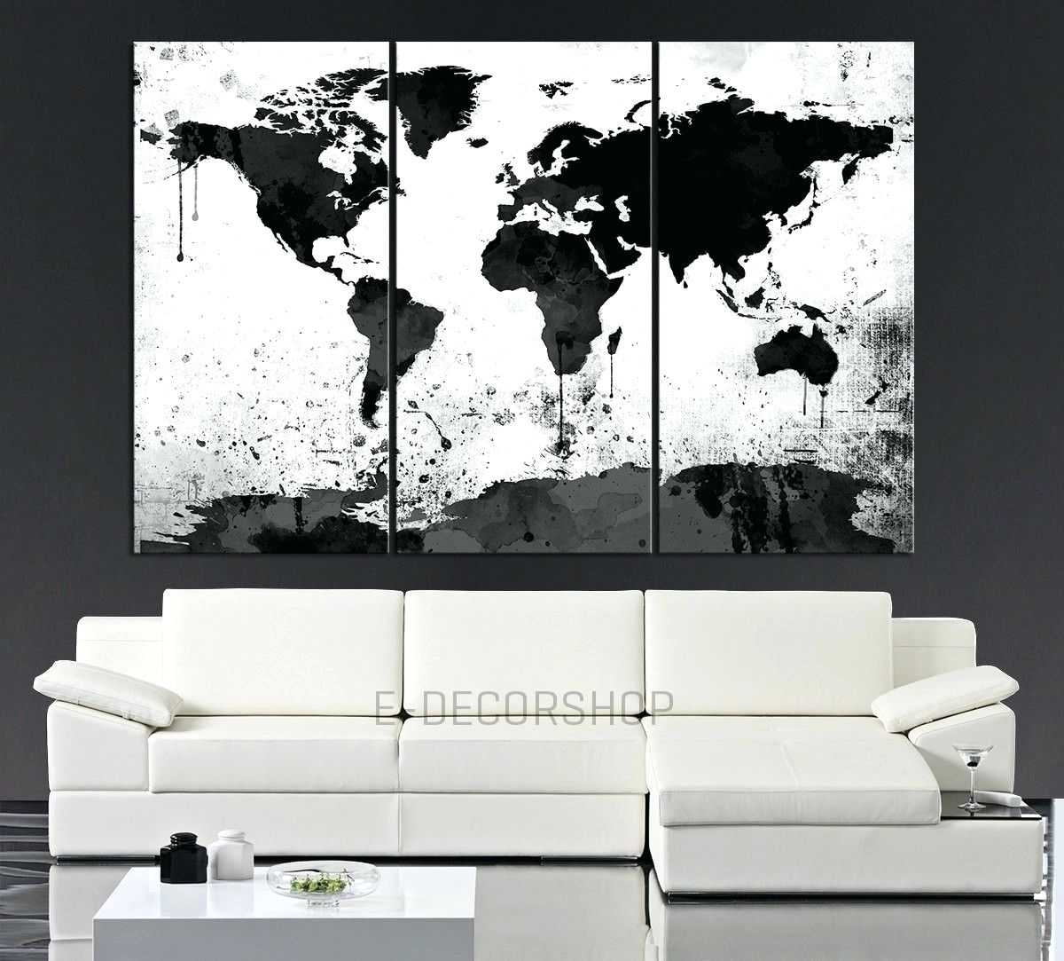 World Map Canvas Wall Art Framed Maps Sydney Word Wall Art Canvas With Regard To Best And Newest Port Elizabeth Canvas Wall Art (View 15 of 15)