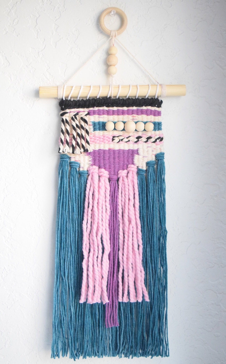 Woven Wall Art | Handwoven Tapestry Weaving | Woven Wall Hanging In Most Up To Date Woven Fabric Wall Art (View 6 of 15)