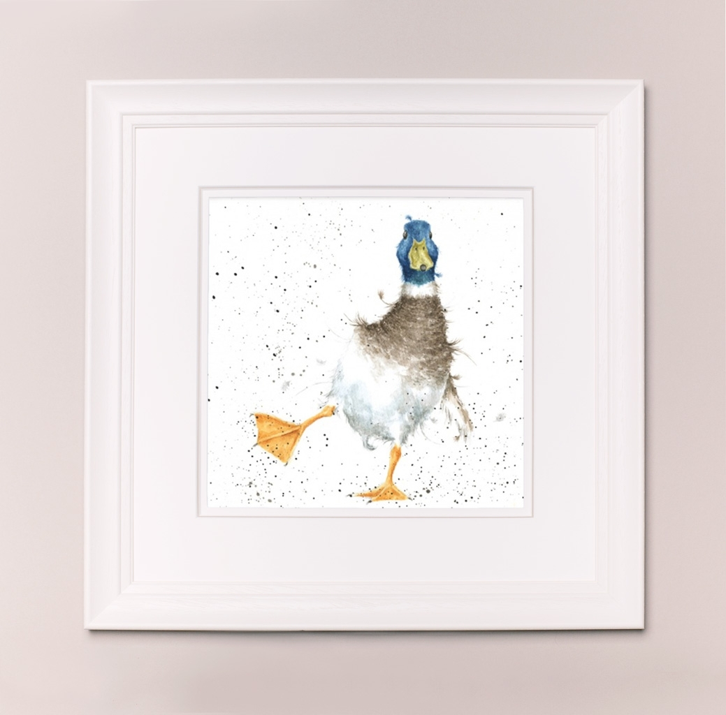 """Wrendale Designs Large Print """"party Animal"""" – Coach House Art With Regard To Recent Framed Animal Art Prints (Gallery 1 of 15)"""