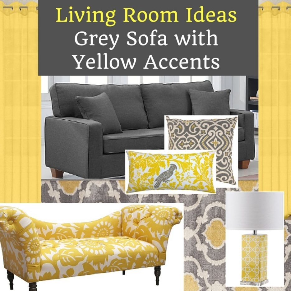 Yellow Wall Art Decor Grey And Yellow Mixed Grey And Mustard Pertaining To Most Recent Yellow Wall Accents (Gallery 10 of 15)