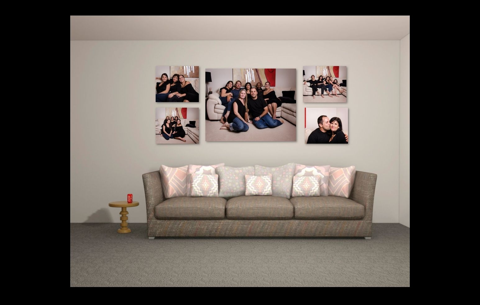 You Seen It? Canvas Wall Art Design! Many People With Regard To Newest Groupings Canvas Wall Art (View 15 of 15)