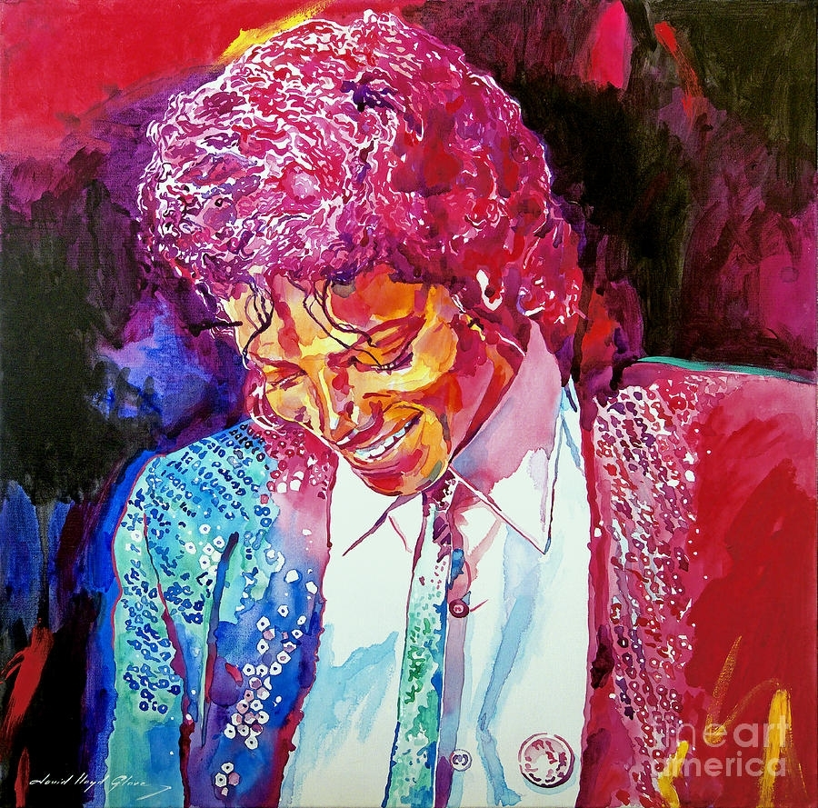 Young Michael Jackson Paintingdavid Lloyd Glover Throughout Current Michael Jackson Canvas Wall Art (Gallery 6 of 15)