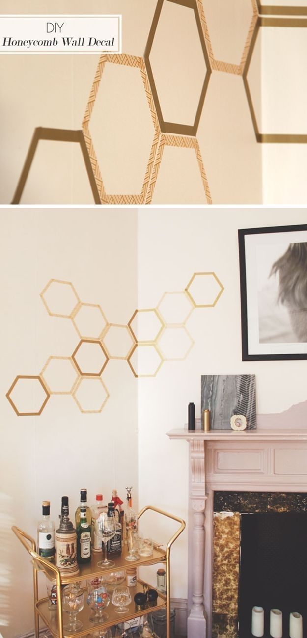 100 Washi Tape Ideas To Style And Personalize Your Items | Cheap Art Within Most Up To Date Washi Tape Wall Art (View 1 of 20)