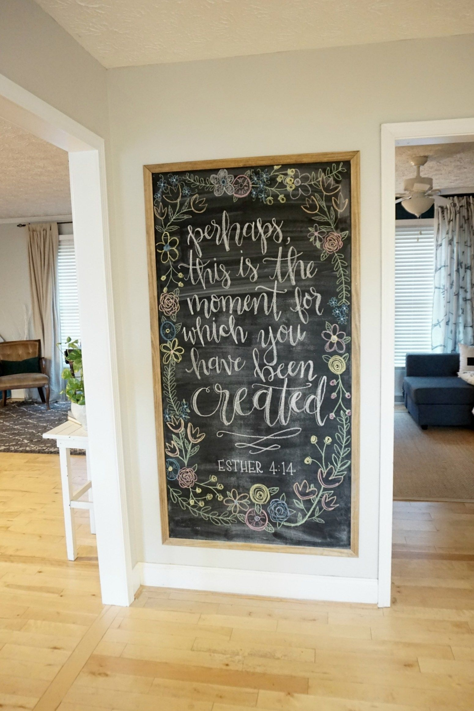 12 Affordable Ideas For Large Wall Decor | Chalkboard Inspirations Intended For Newest Large Wall Art (View 1 of 15)