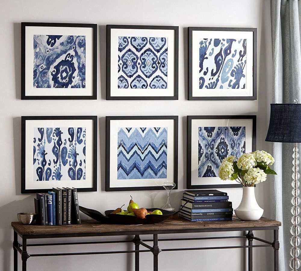 12 Inspirational Diy Picture Frame Ideas, Making Yours Like Never For Most Up To Date Pottery Barn Wall Art (View 1 of 15)