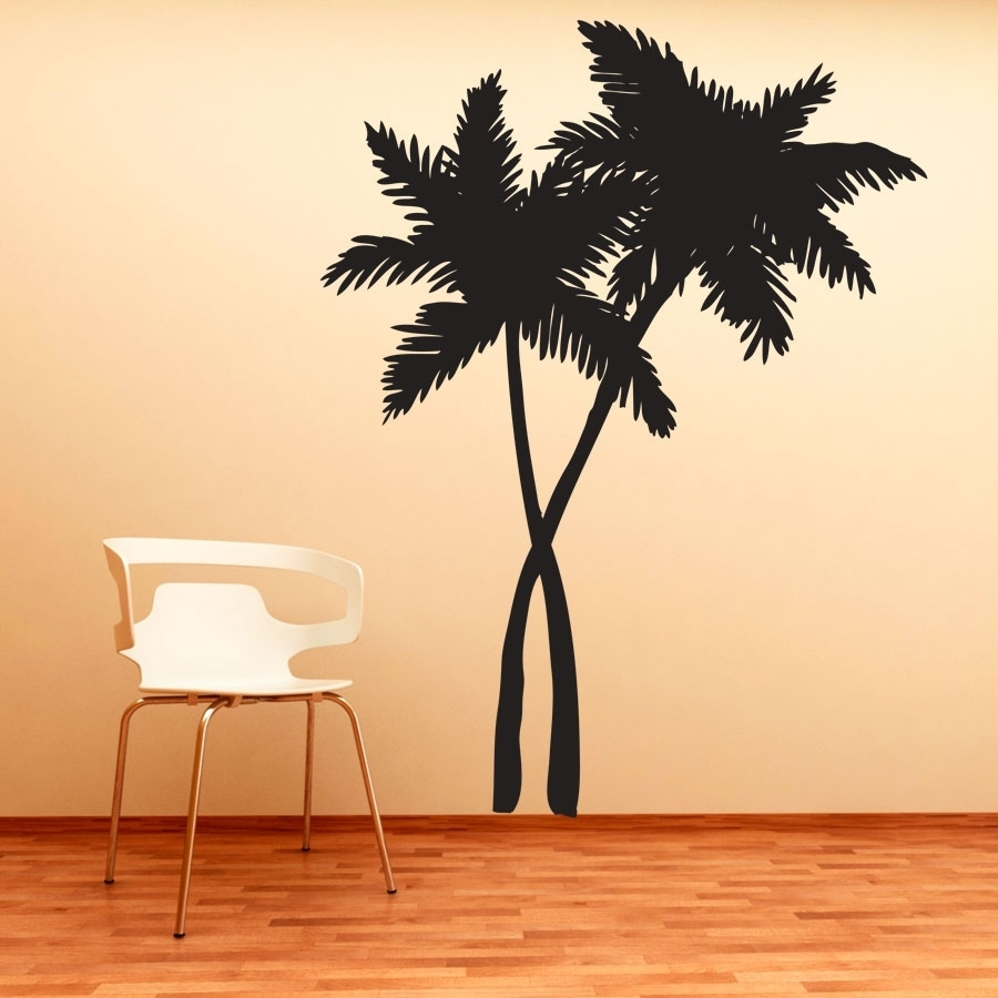 14 Tree Tiles Wall Decal Compilation | Tile Stickers Ideas With Most Recently Released Palm Tree Wall Art (View 1 of 20)