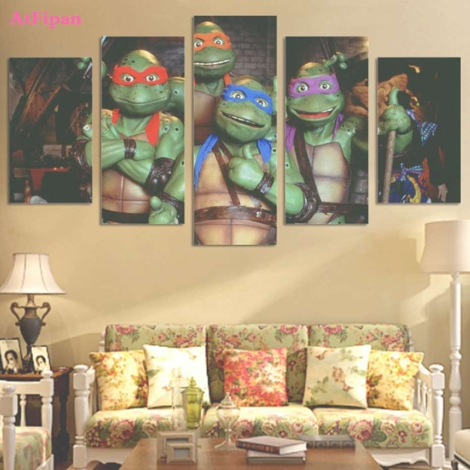 Photos of Ninja Turtle Wall Art (Showing 11 of 20 Photos)