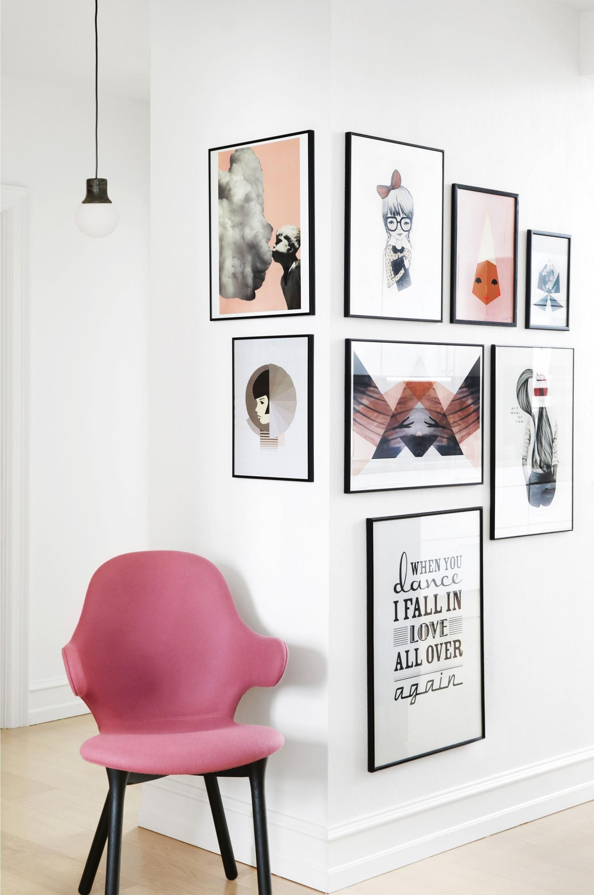 17 Unique Wall Art Display Ideas That Aren't Another Gallery Wall Throughout Latest Corner Wall Art (View 1 of 20)