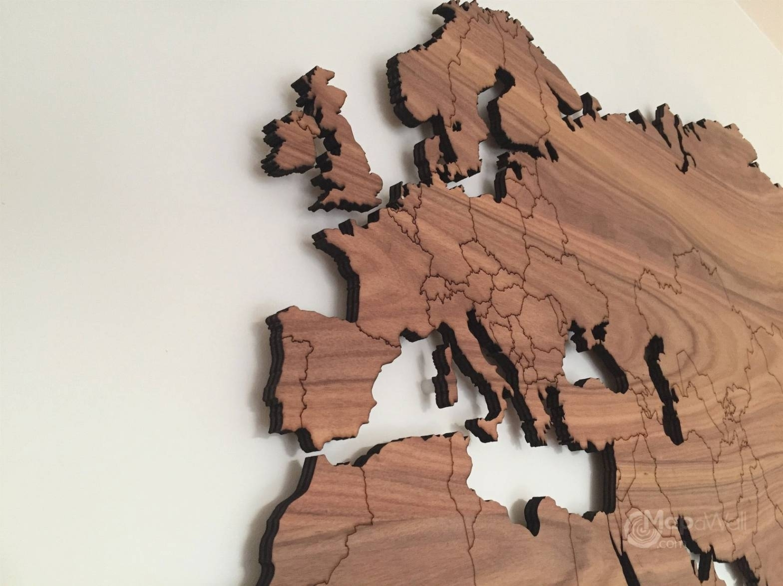 20 Ideas Of Map World Wall Art And Wooden – Furlongs Regarding Most Current Wall Art Map Of World (View 15 of 20)