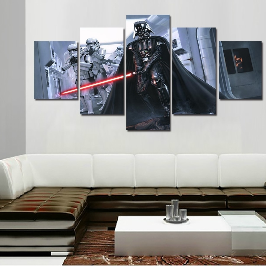 2016 Promotion Fallout Wall Art Framed Star Wars Darth Vader With Regard To Newest Darth Vader Wall Art (Gallery 2 of 20)