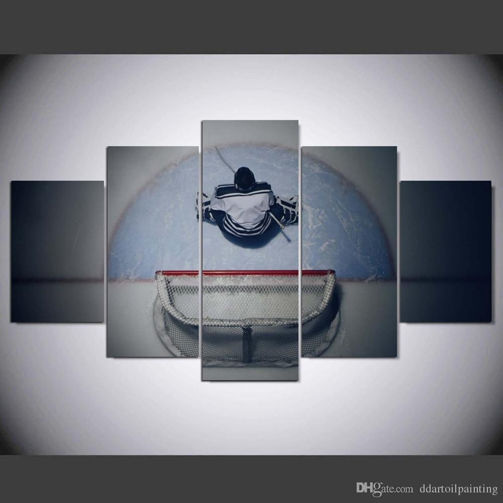 2018 60X32 Winter Sports Hockey Art Print ,hockey Canvas Print Wall With Regard To Latest Hockey Wall Art (Gallery 7 of 15)